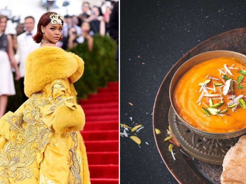 Kocak! Begini Jadinya Kalau Rihanna Disulap Jadi Makanan India