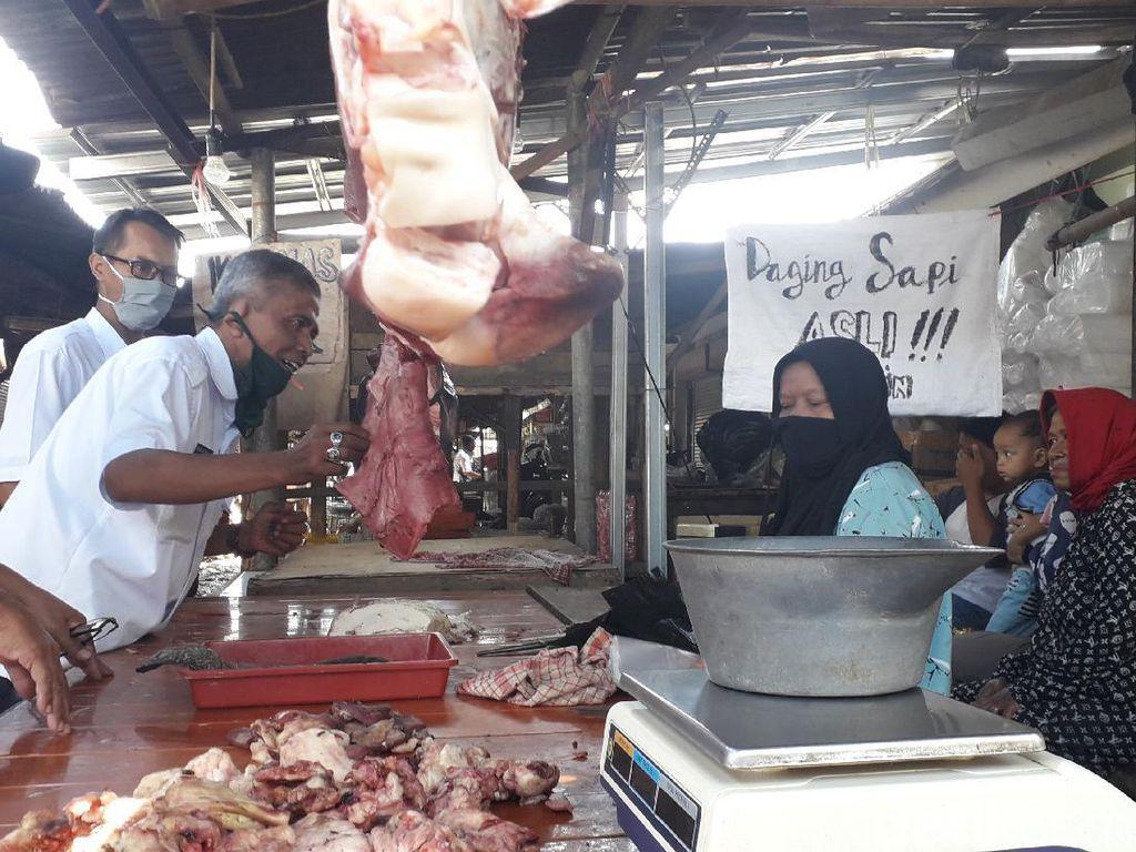 Imbas Babi, Omzet Pedagang Daging Sapi di Bandung Turun Drastis