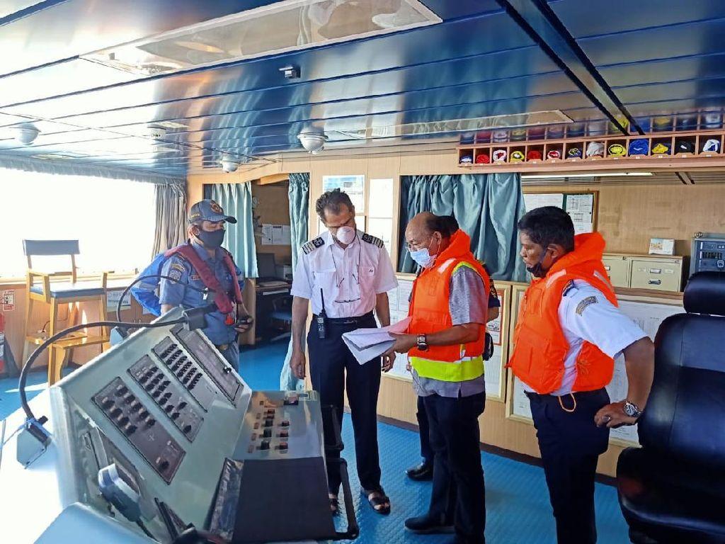 Kemenhub Selidiki Kandasnya Kapal Berbendera Iran di Kepulauan Riau