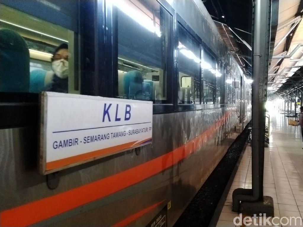 194 Orang Ditolak Naik Kereta Luar Biasa dari Daop 4 Semarang