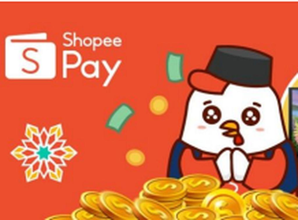 Berbagi THR Lewat ShopeePay Bisa Dapat Uang Tunai & Samsung Smart TV