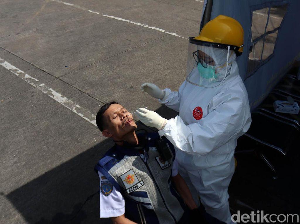 Jumlah Tes Corona Hari Ini Turun Lagi di Bawah Target Jokowi