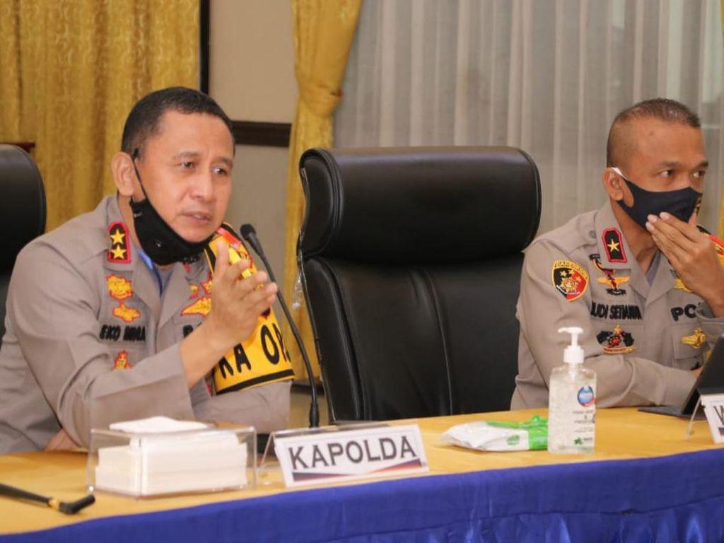 Ribuan Polisi-TNI Siap Amankan PSBB di Palembang dan Prabumulih