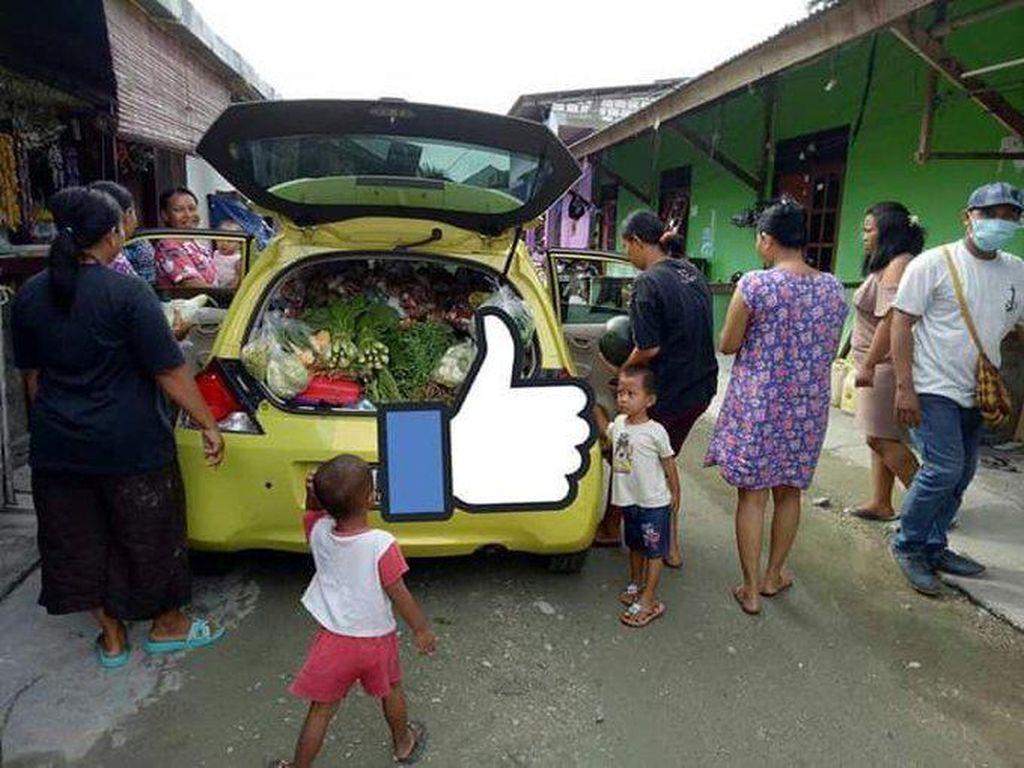 Mobil-mobil di Papua: Brio Jadi Gerobak Sayur, Fortuner Jadi Angkot