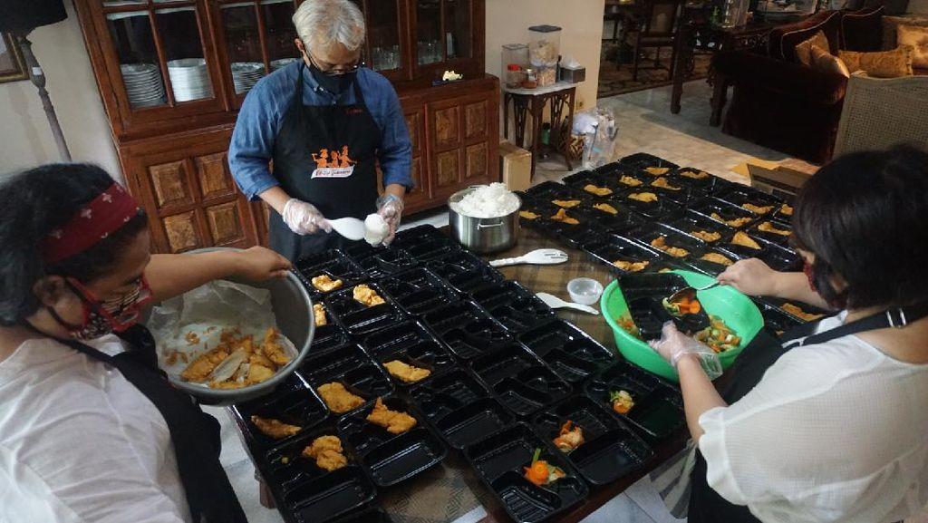 Donasi Paket Makanan Untuk Tenaga Medis
