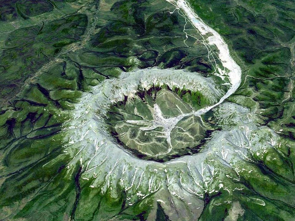 Foto: Gunung Harta Karun dari Rusia