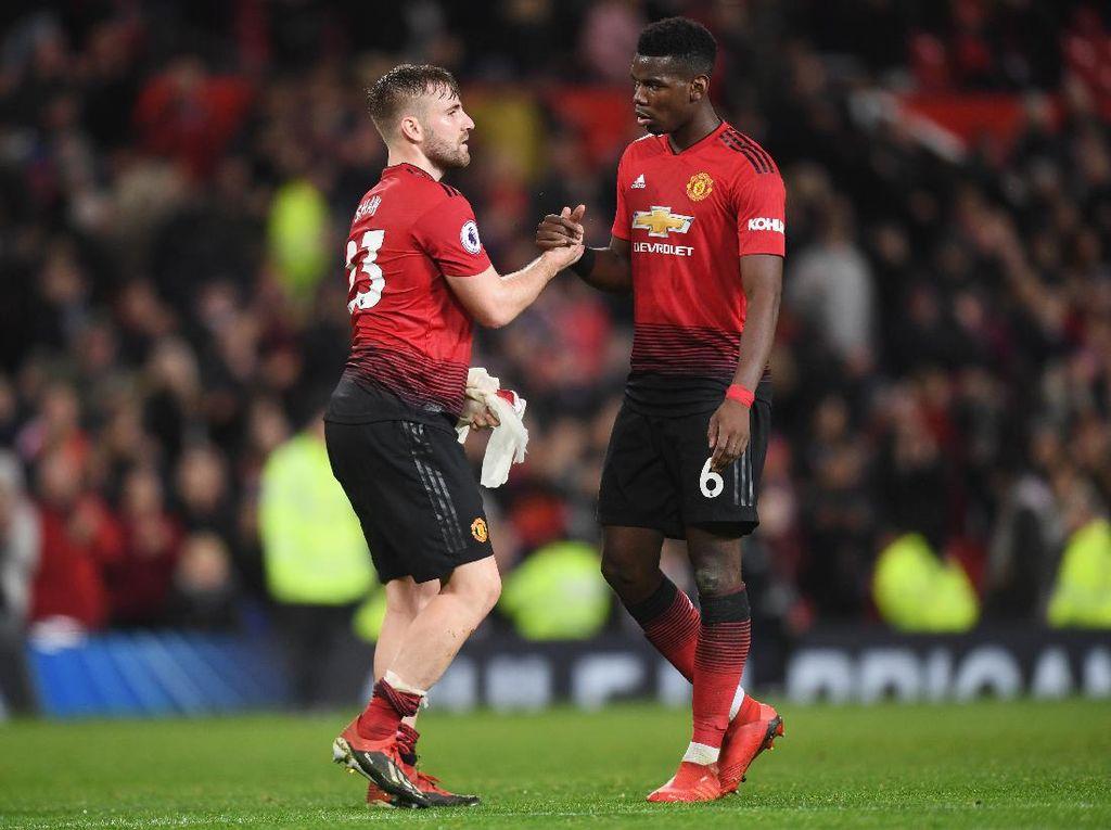 Luke Shaw: Susah Banget Rebut Bola dari Pogba