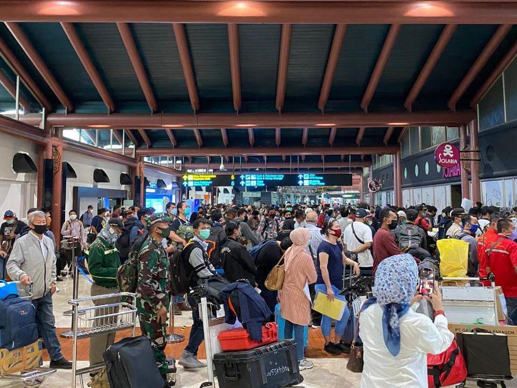 Heboh Bandara Soetta Padat Penumpang, AP II Buka Suara