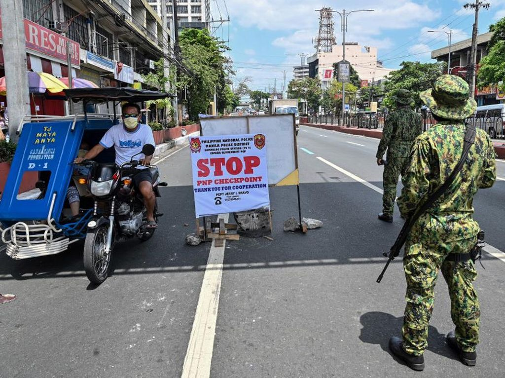 Gelar Pesta Ultah Saat Lockdown, Kepala Kepolisian Manila Dijerat Pidana