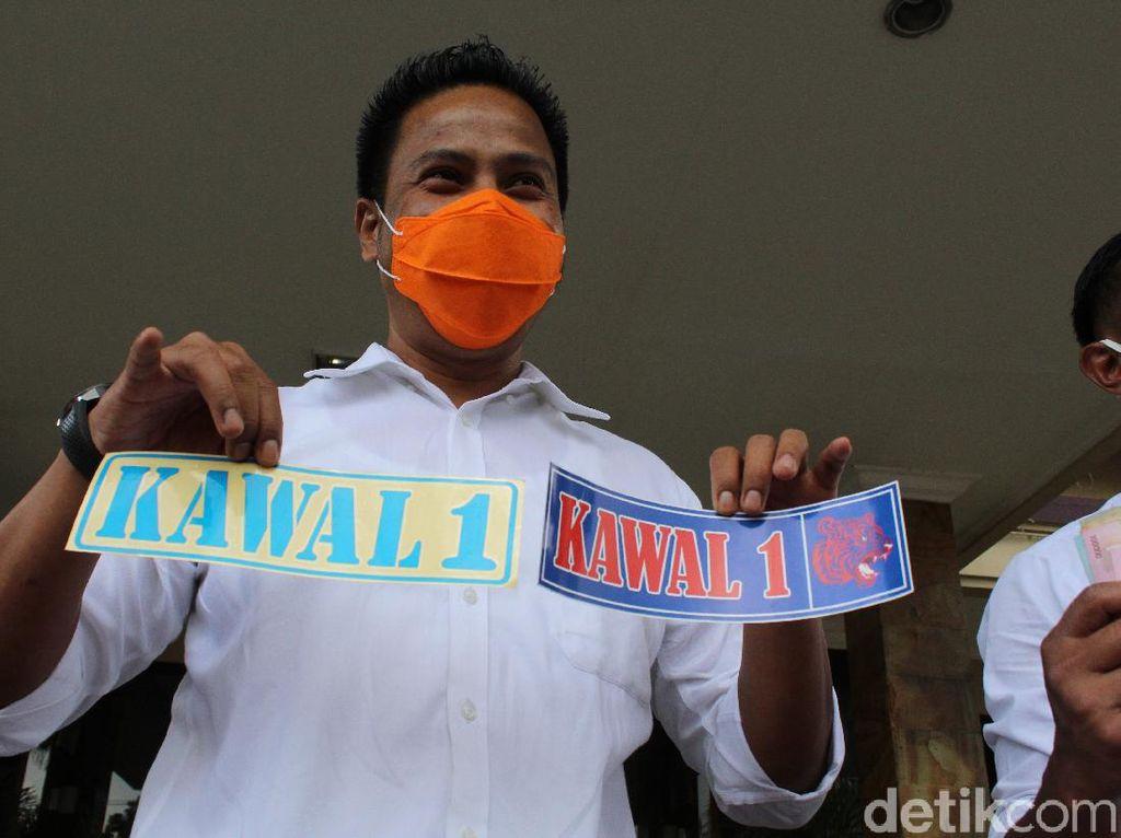 Jual Setiker Anti PSBB, 5 Pria di Bandung Ditangkap Tim Saber Pungli