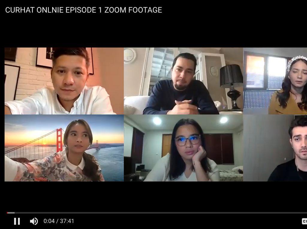 Cerita Fachri Albar Syuting Bersama dalam Curhat Online