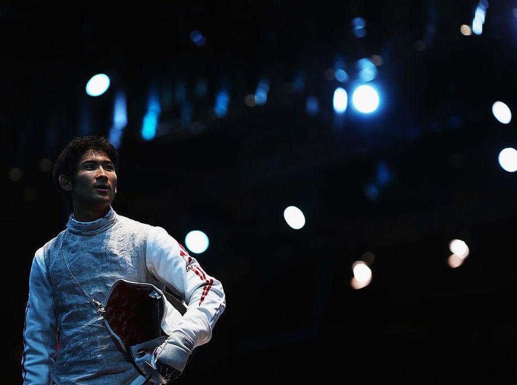 Atlet Anggar Alih Profesi Jadi Kurir Pengantar Makanan Gegara Pandemi Corona