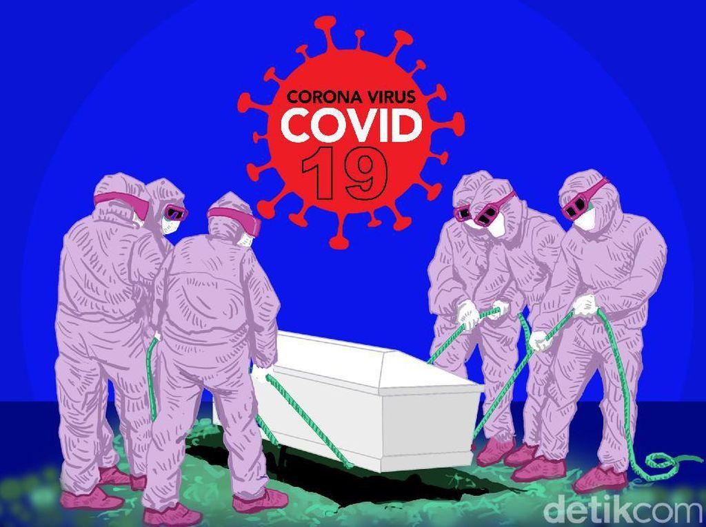 Kronologi Pasien Suspek COVID-19 di Medan Dikubur Berdaster Versi Lurah