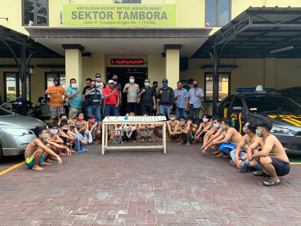 Bacok Polisi, 23 Pelaku Tawuran di Jakbar Ditangkap Polisi