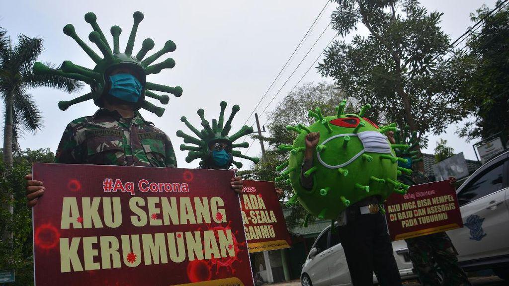 Jatim Nyalip Jabar Kasus Corona Terbanyak Kedua di Indonesia