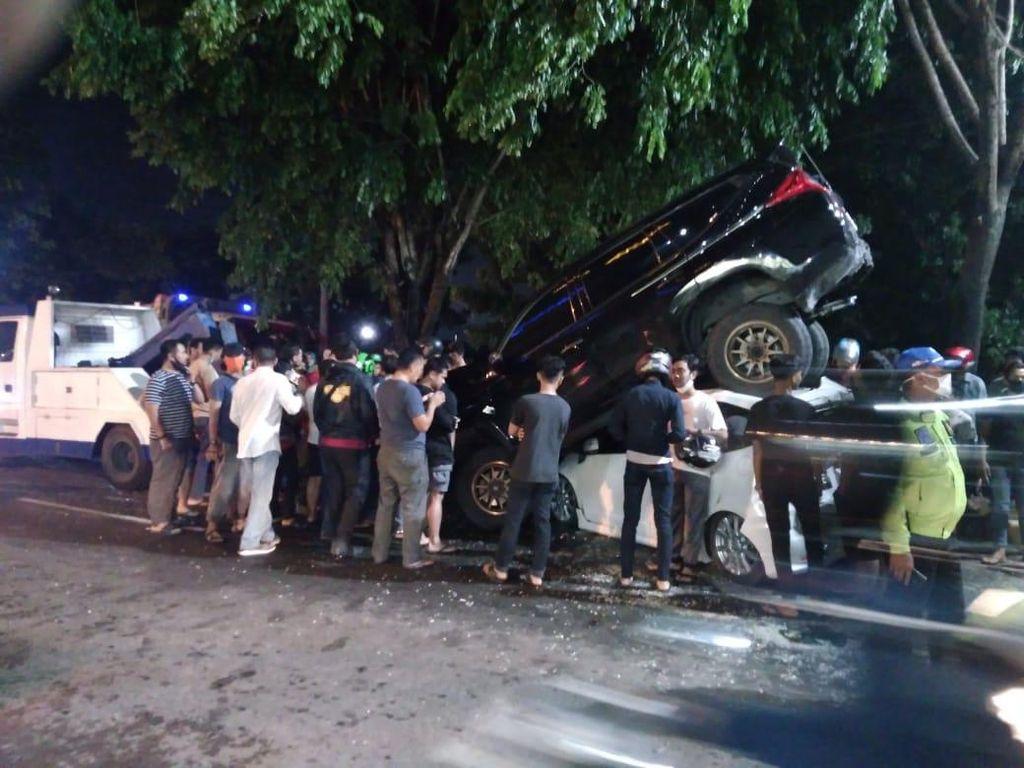 Kecelakaan Beruntun di Ring Road Medan, Lalu Lintas Macet Parah