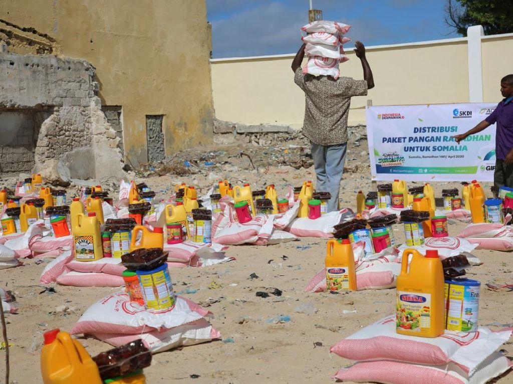 ACT Kirim Paket Pangan Ramadhan untuk 1.897 Pengungsi Somalia
