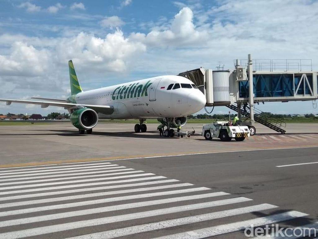 Antrean di Soetta Padat, Ada 6 Penumpang Mendarat di Bandara Solo Hari Ini