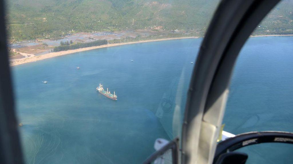 Polda Aceh Patroli Udara Pantau Imigran Rohingya