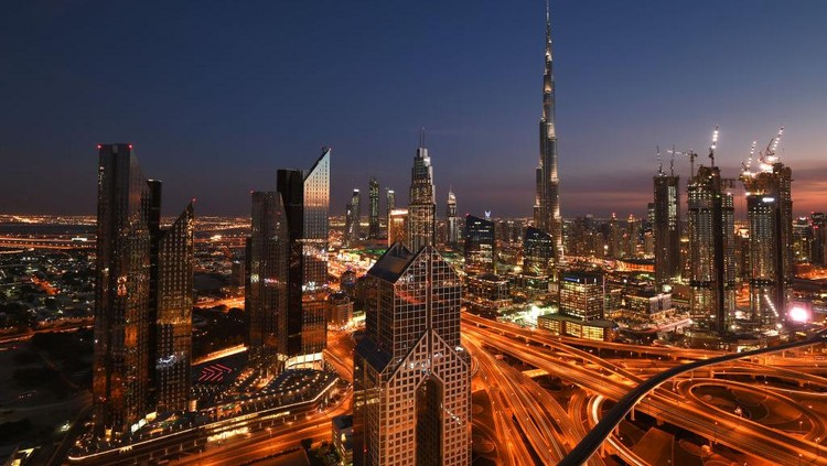 Gemerlapnya Peradaban Islam Modern di Kota Dubai