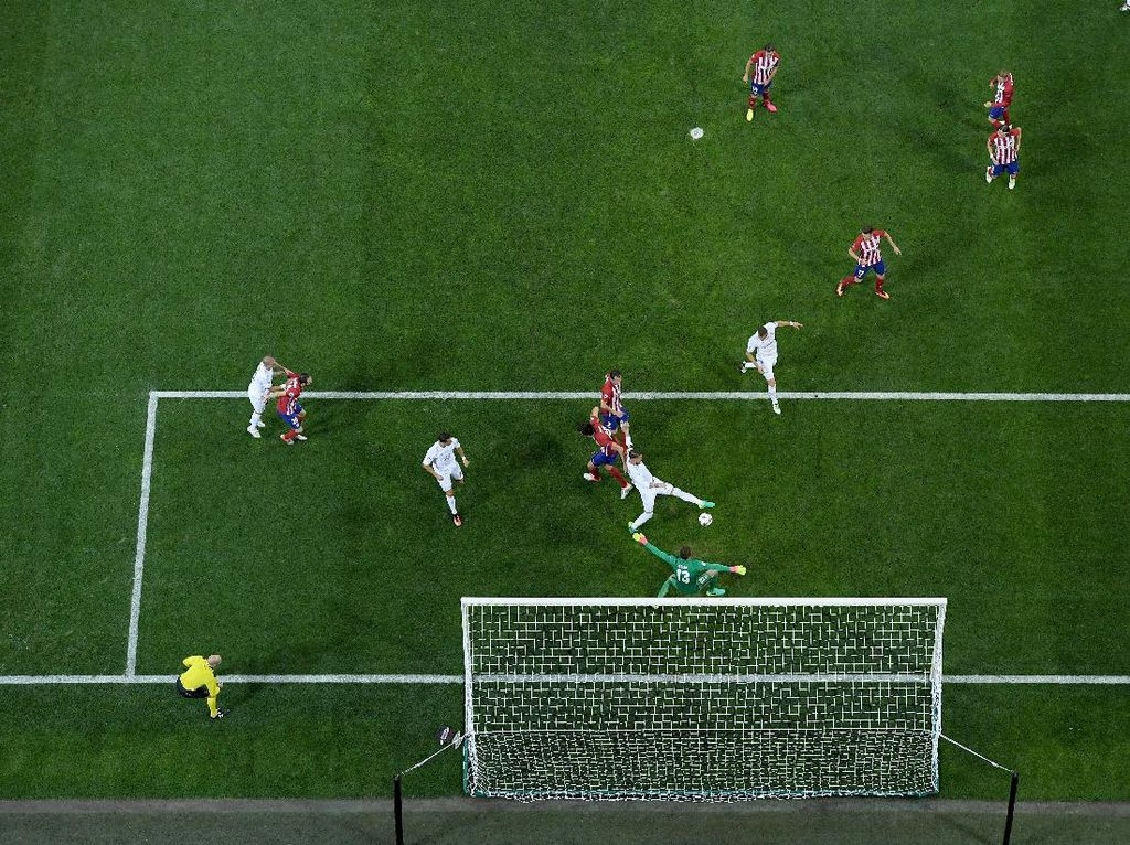 Jika 2016 Ada VAR, Atletico yang Juara Liga Champions Bukan Madrid