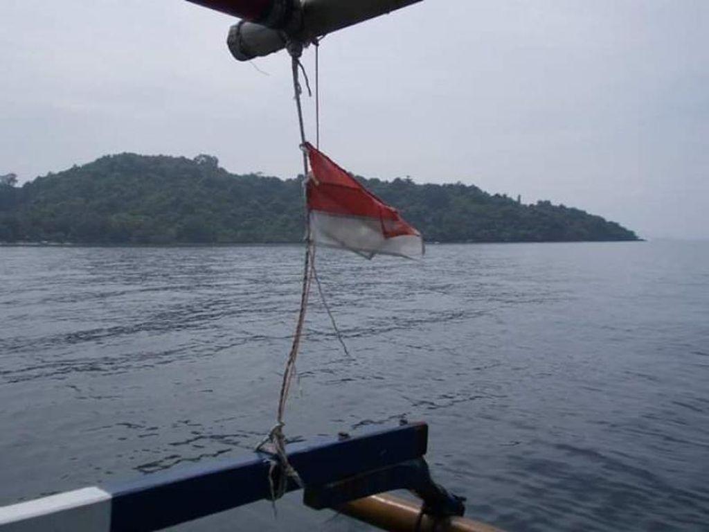 Foto: Pulau Tangkil yang Cantik Tapi Jarang Orang Tahu
