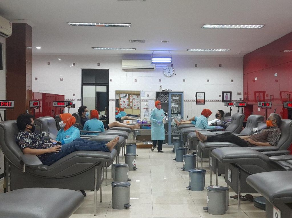 Stok Darah A dan AB PMI Surabaya Kosong, Golongan Darah O Menipis