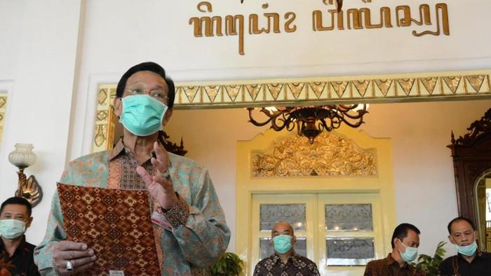 Gubernur DIY, Sri Sultan Hamengku Buwono X, Jumat (15/5/2020).