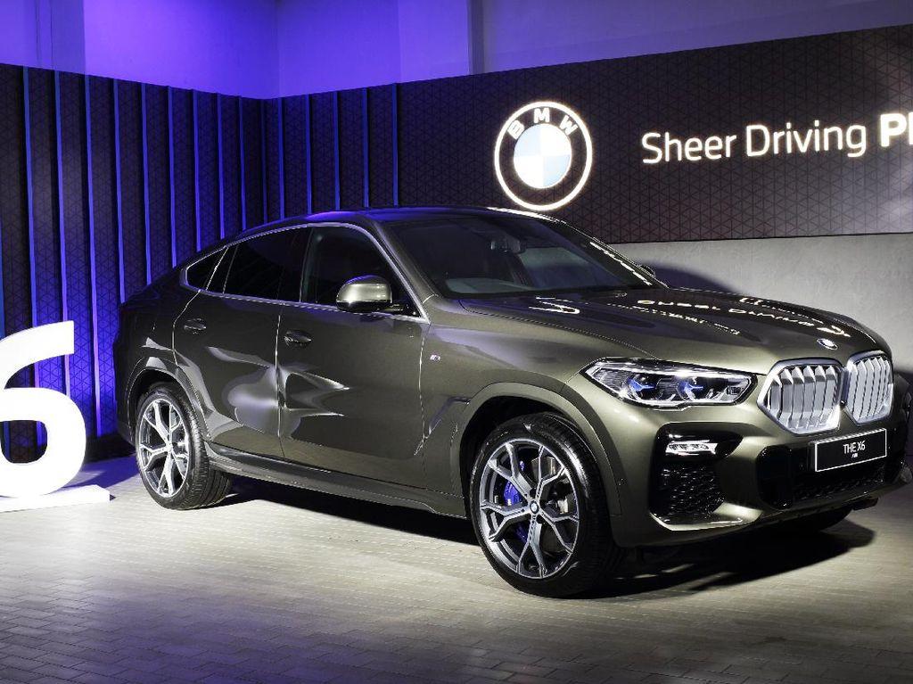 BMW Luncurkan X6 Terbaru ke Indonesia, Harga Rp 1,899 M Stok Terbatas!