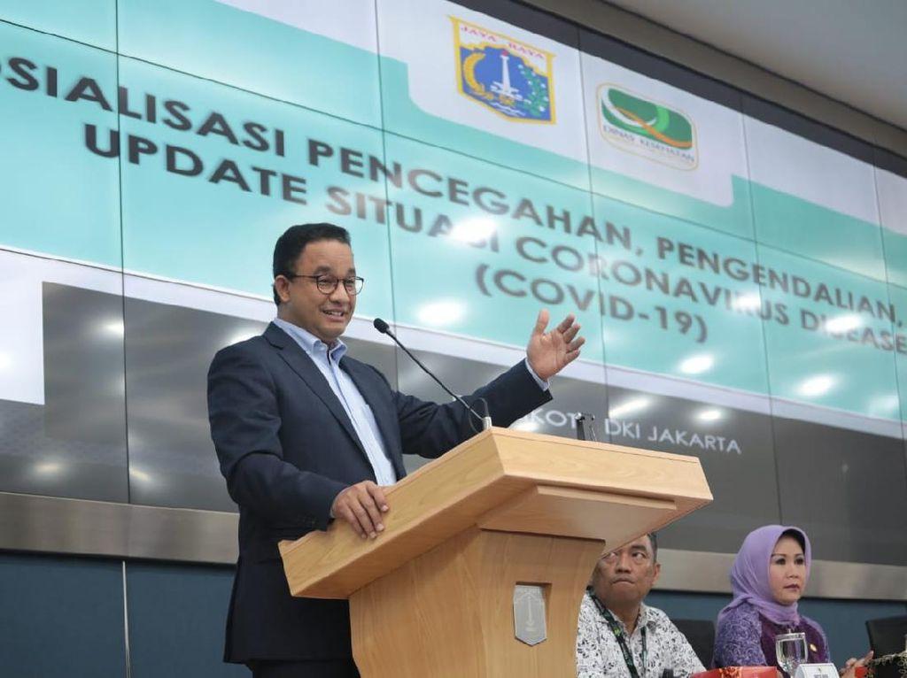 Anies Beberkan Alasan Batasi Warga Keluar-Masuk DKI Jakarta di Masa PSBB