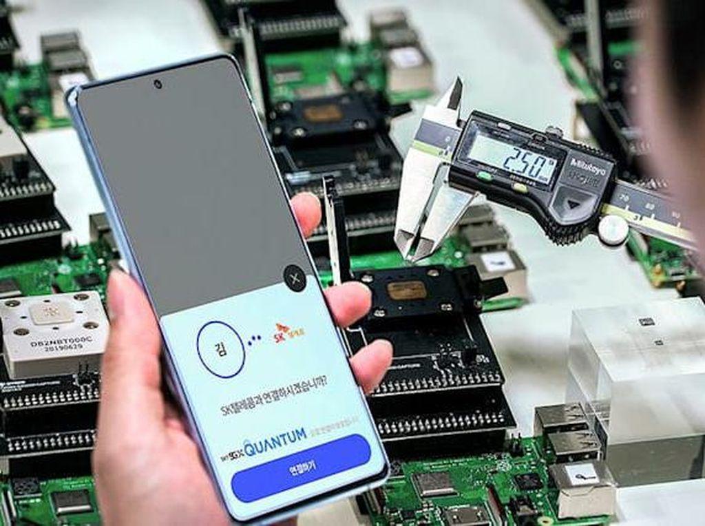 Samsung Luncurkan Galaxy A Quantum dengan Keamanan Mutakhir