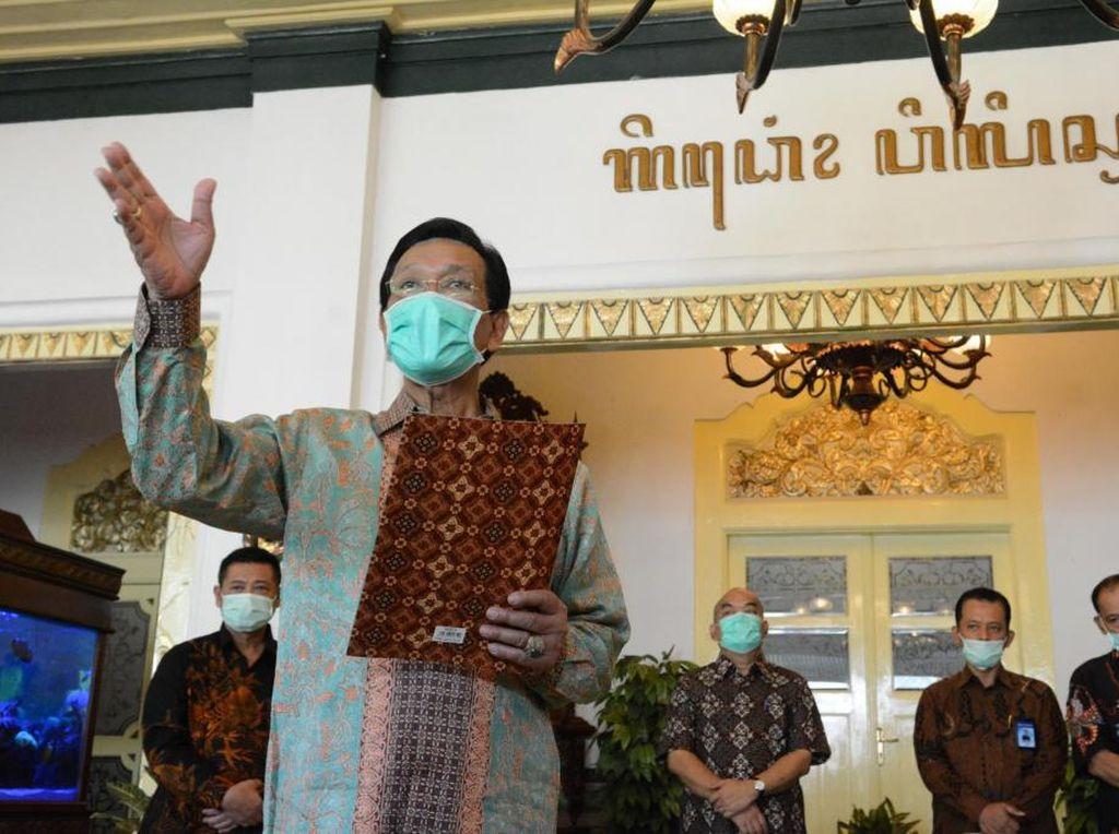 Kasus Corona di Yogya Meroket Tapi Belum Ajukan PSBB, Ini Alasan Sultan