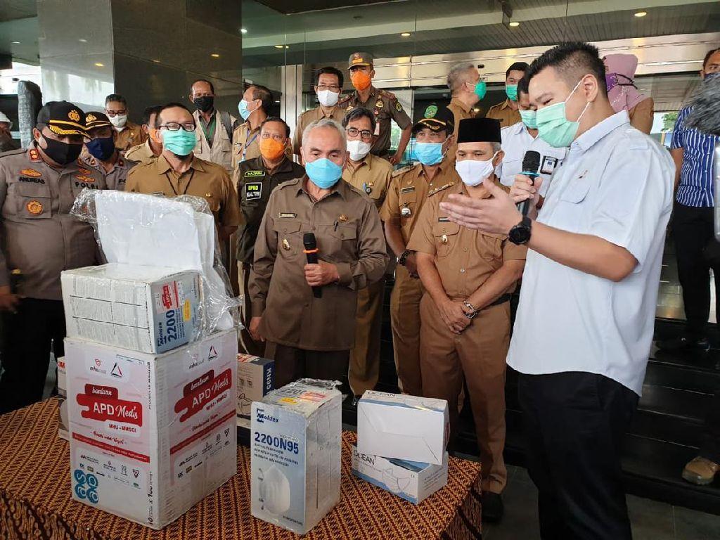 Gubernur Kaltim Pastikan Donasi Rp 5 M dari Swasta Tepat Sasaran