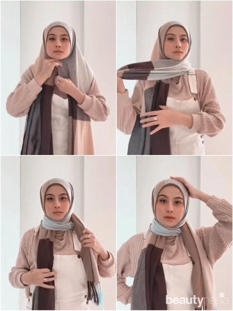 4 Tutorial Hijab Pashmina Ala Awkarin Di 30dayshijablook