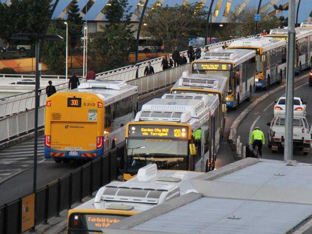 Secara Perlahan Warga Australia Kembali Gunakan Transportasi Umum