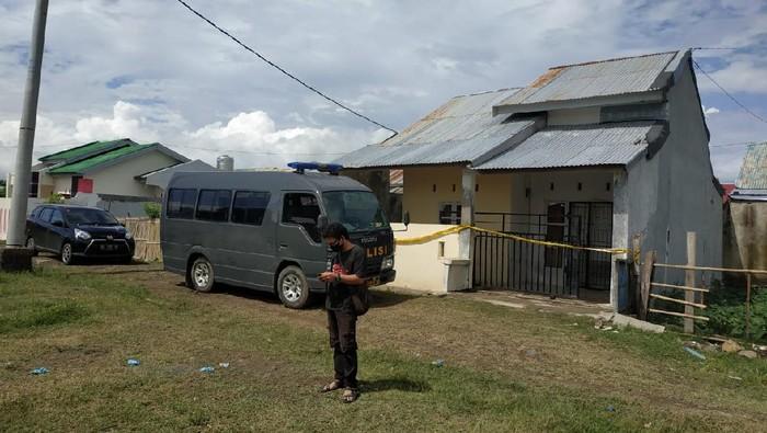 Lokasi anggota Polrestabes Makassar tembak istri dan anggota TNI di Jeneponto (dok. Istimewa)