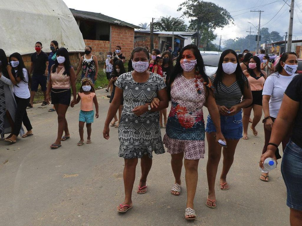 Corona Menyebar Cepat di Hutan Amazon, Brasil Evakuasi Pasien Pakai Pesawat