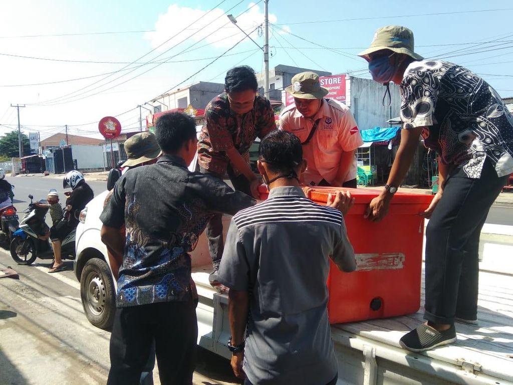 Pengusaha Bengkulu Sumbang 150 Kg Ikan untuk Dibagi ke Ratusan Ustaz