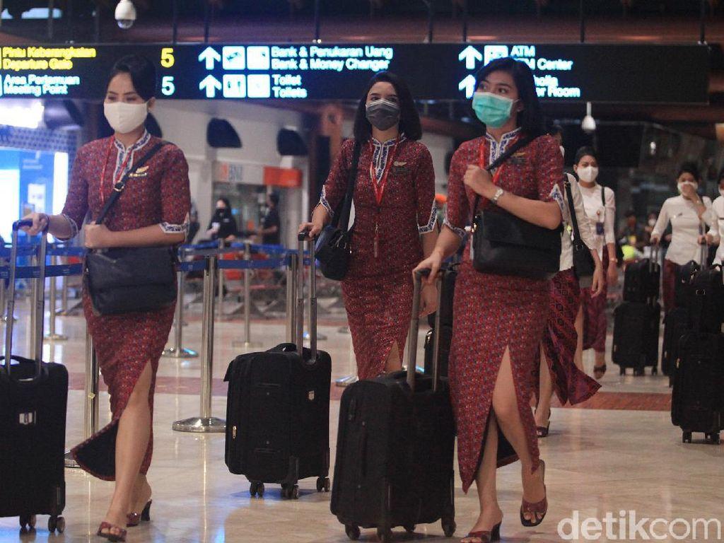 Intip Protokol Kedatangan Penumpang Internasional di Bandara Soetta