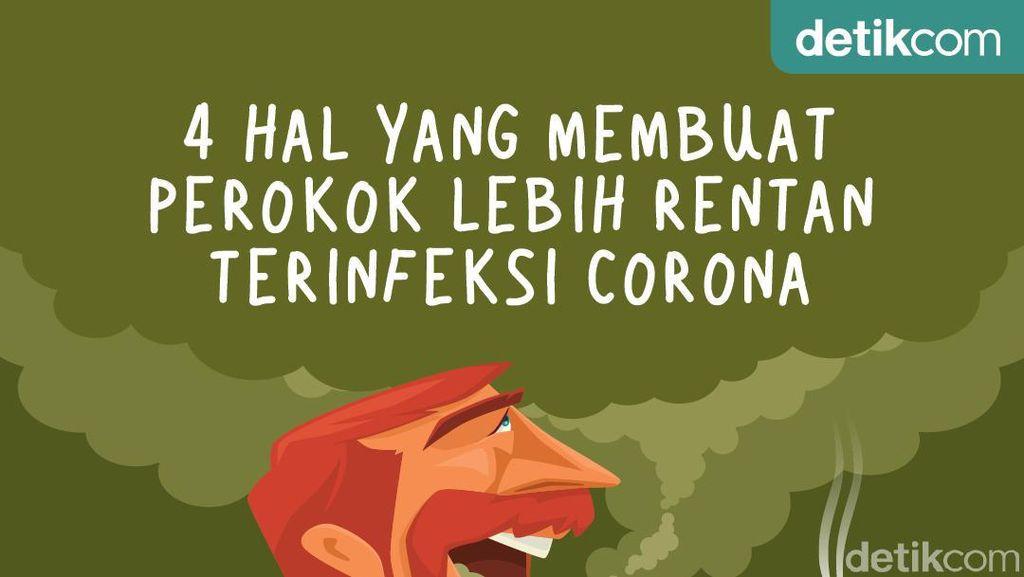 4 Hal yang Membuat Perokok Lebih Rentan Kena Corona
