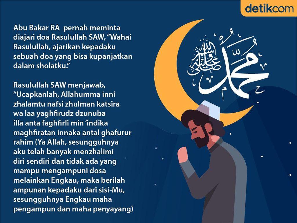 Doa yang Diajarkan Rasulullah SAW kepada Abu Bakar