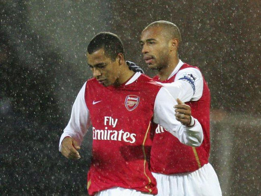 Gilberto Silva Berandai-andai Ronaldinho-Henry Duet di Arsenal