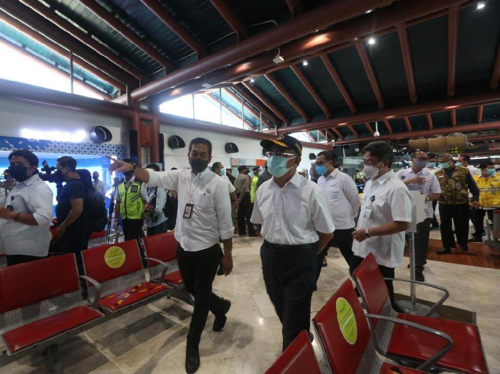 Cek Bandara Soetta, Menko PMK Muhadjir Minta Protokol Diperketat