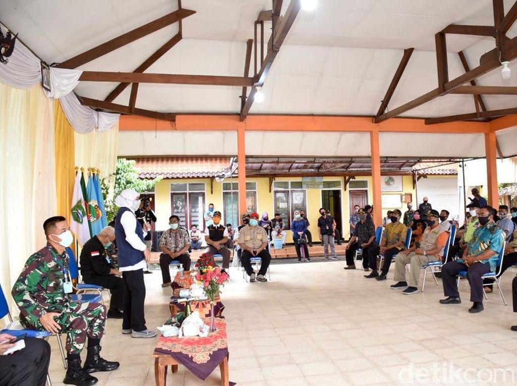 Khofifah Ingin Kampung Tangguh di Malang jadi Contoh Bagi yang Lain