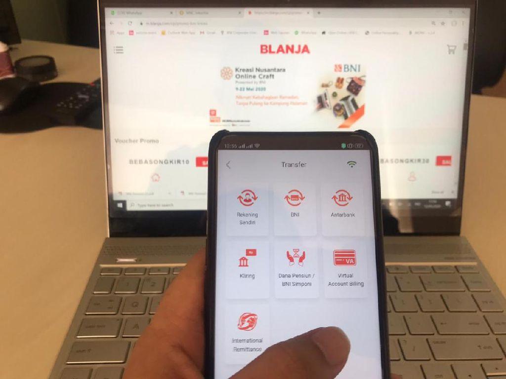 Pandemi COVID-19, Transaksi BNI Mobile Banking Meningkat 84,4%
