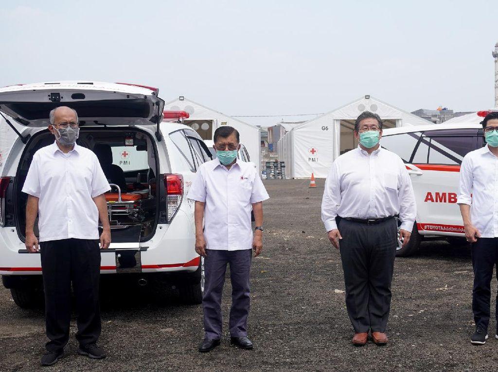 Toyota Sediakan 68 Unit Avanza dan 5 Innova Khusus Tenaga Medis Indonesia