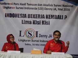 Survei LSI Denny JA: 158 Wilayah Dapat Bekerja Mulai 5 Juni, Termasuk DKI