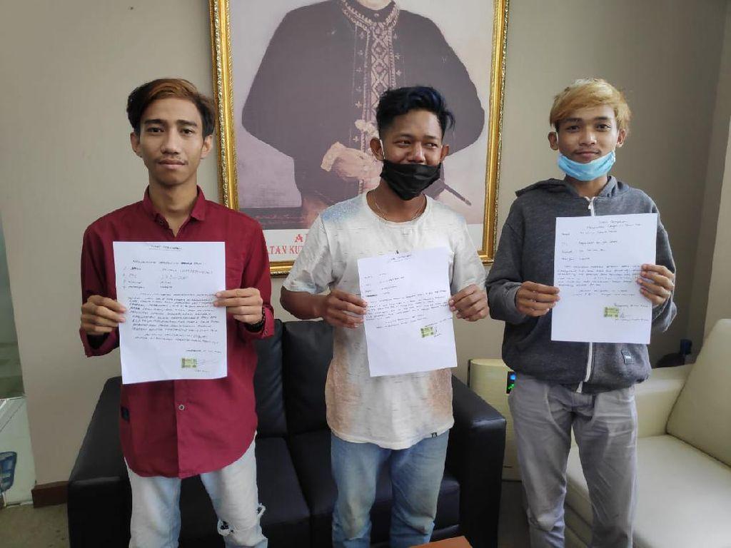 Tiga Pemuda Kukar Dipanggil Satpol PP Gegara Joget di Mobil Pelat Merah
