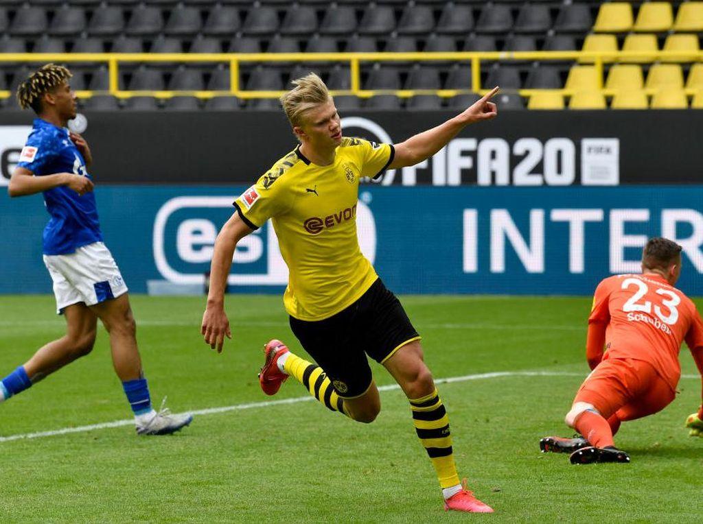 Dortmund Vs Schalke: Die Borussen Pesta Empat Gol