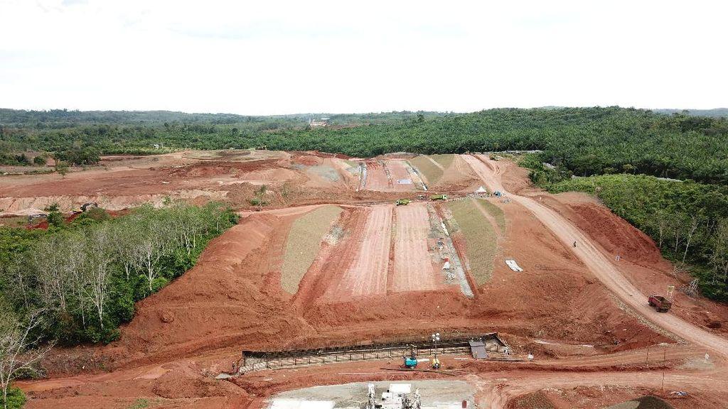 Mengintip Progres Pembangunan Tol Pertama di Bengkulu